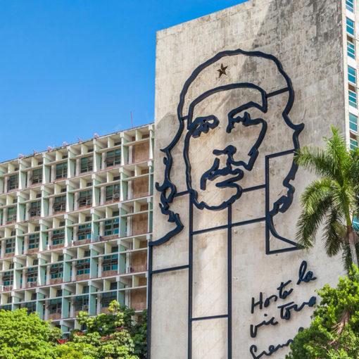 Che Guevara Picture in Cuba