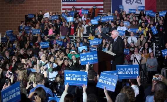 Bernie Sanders Campaign Speech and Rally